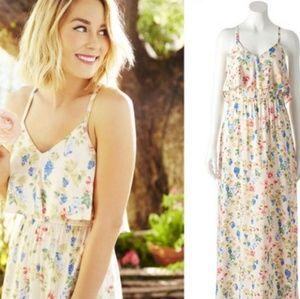 LC floral maxi dress.